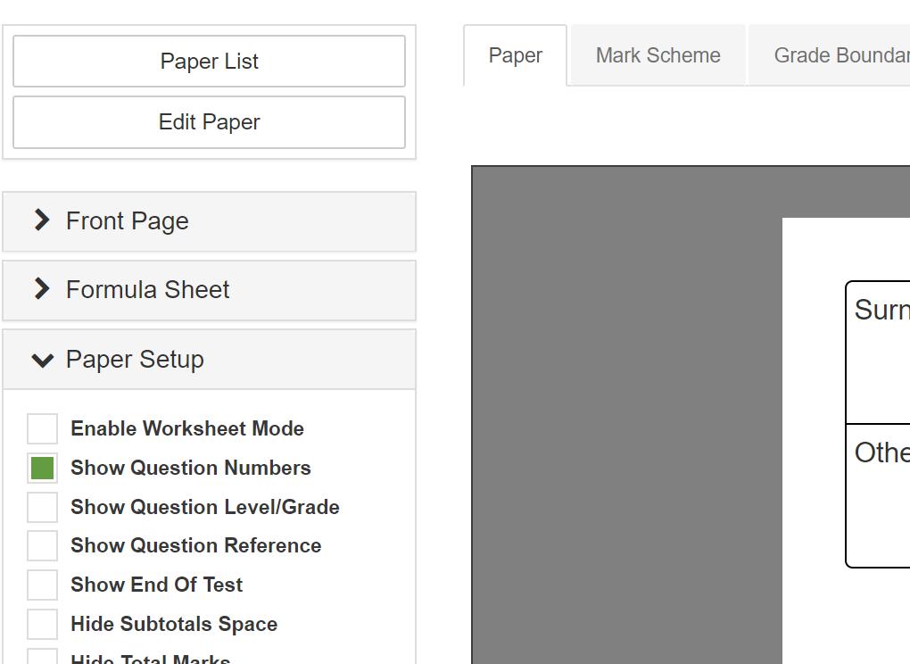 Create A Test Paper Viewer